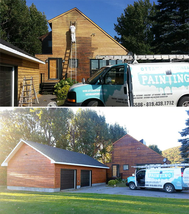 exterior staining and sanding in chelsea