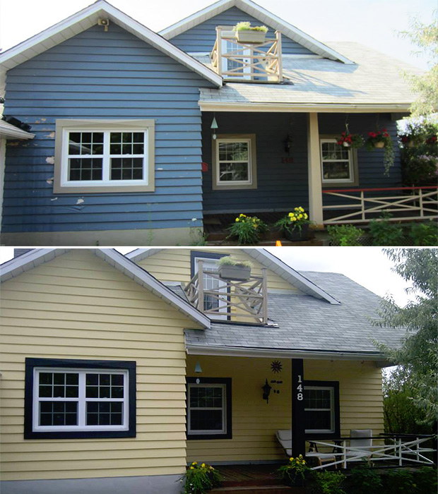 exterior house painting in aylmer Québec
