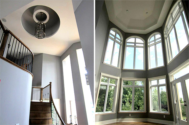 various interior painting in gatineau
