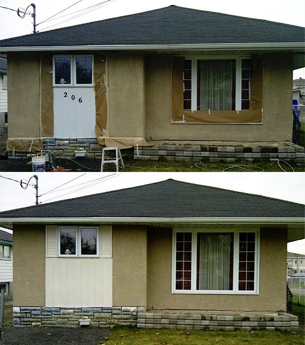 exterior stucco spray gatineau