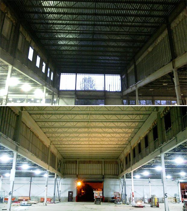 ceiling of ceiling at AIM metal in Ottawa
