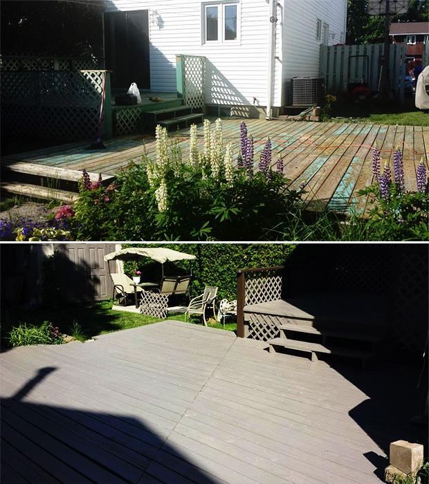 floor paint on deck in gatineau