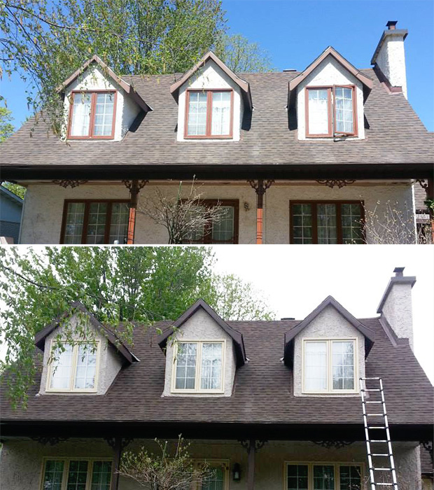 exterior house painting in gatineau